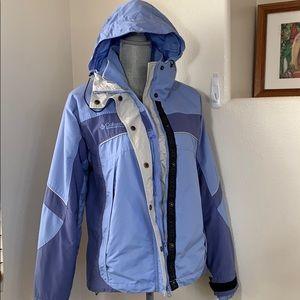 Columbia Women's Winter Jacket Fleece inside Sz M